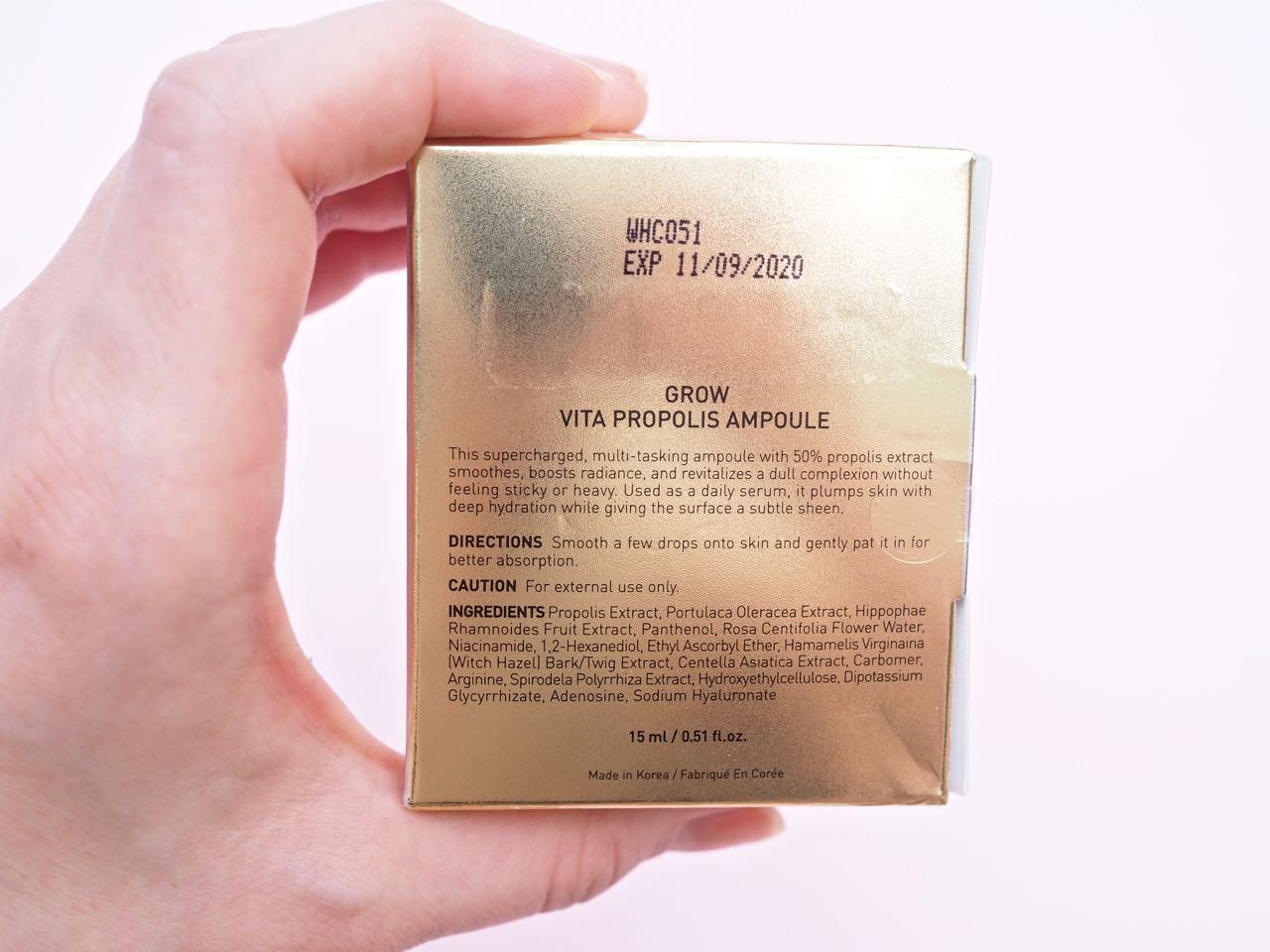 Ostolakossa Korealainen ihonhoito Propolis Virve Fredman