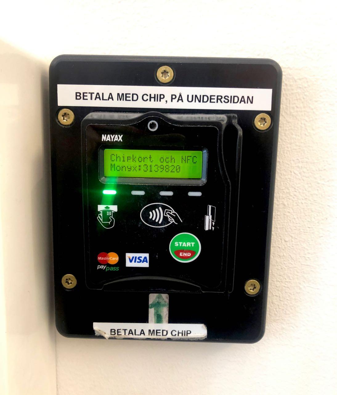 Ostolakossa tarvitseeko Ruotsiin käteistä