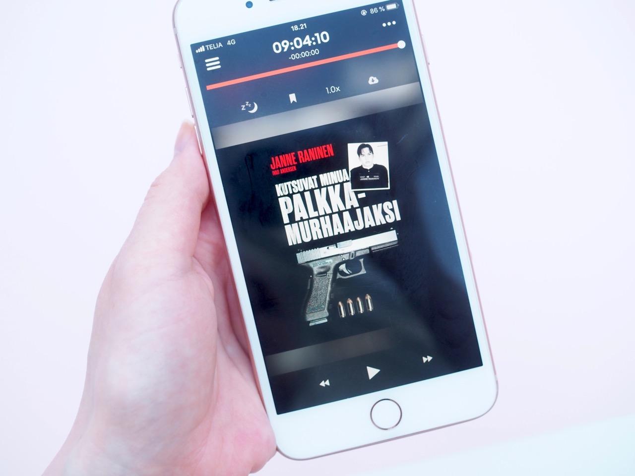 Storytel äänikirjat kokemuksia Ostolakossa Virve Fredman
