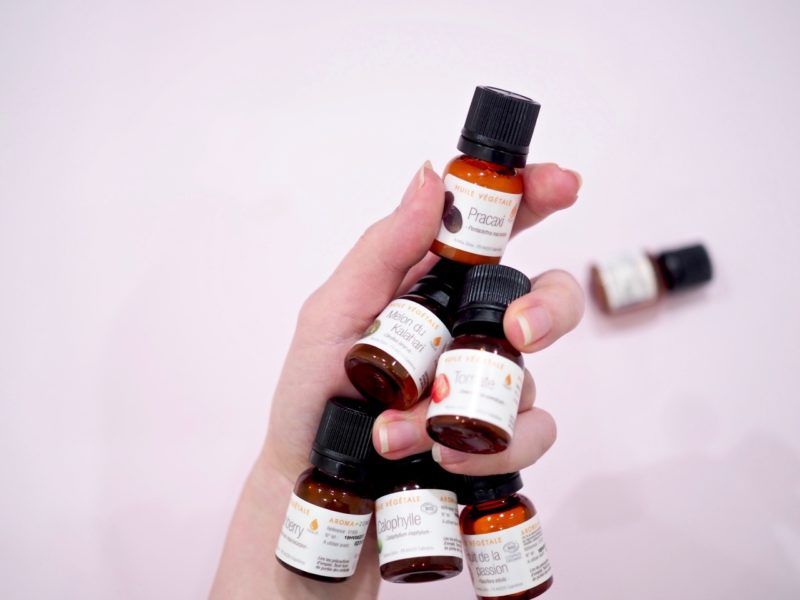 Ostolakossa luonnonöljyt ihonhoidossa