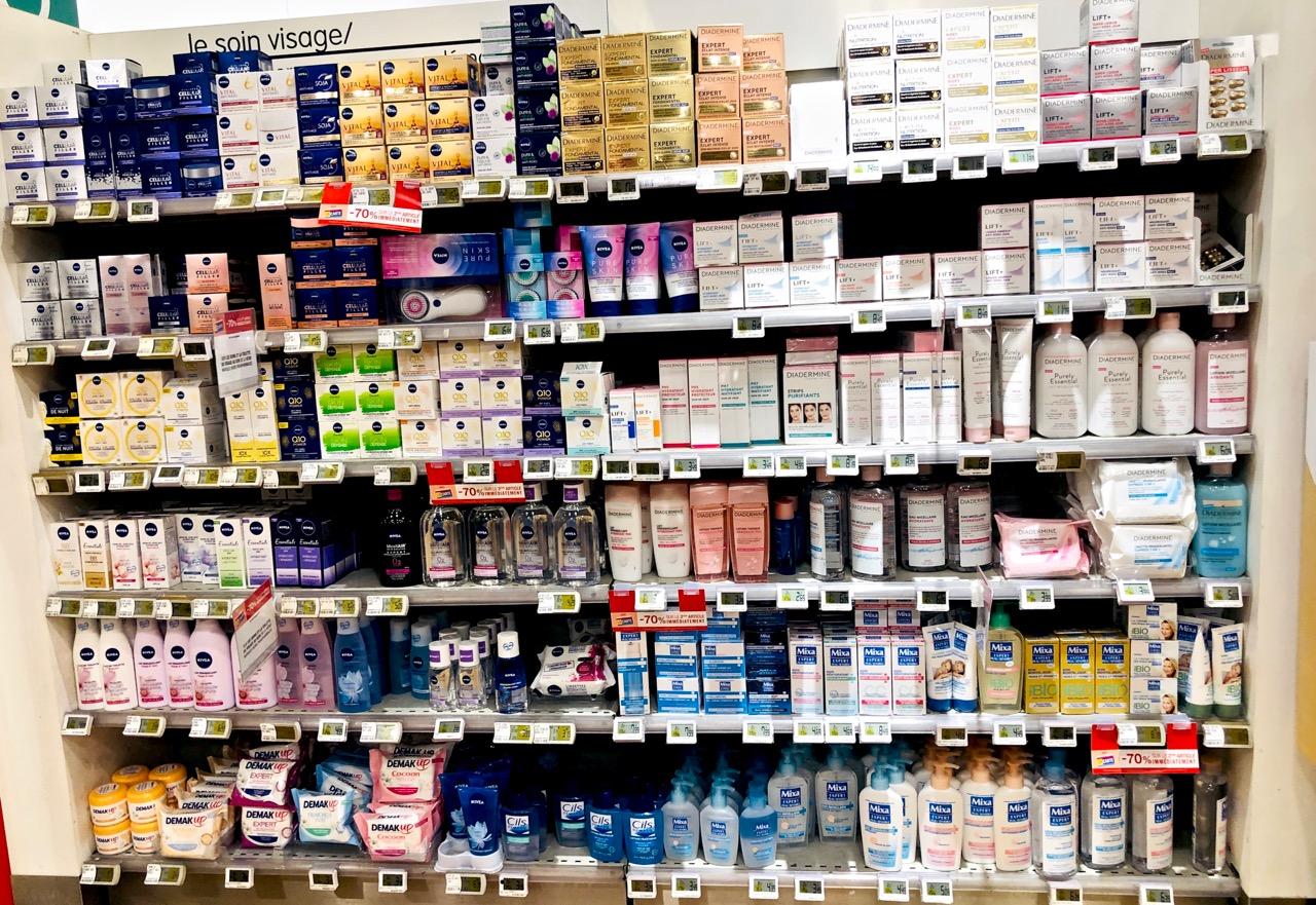 Ostolakossa Pariisi apteekkikosmetiikka