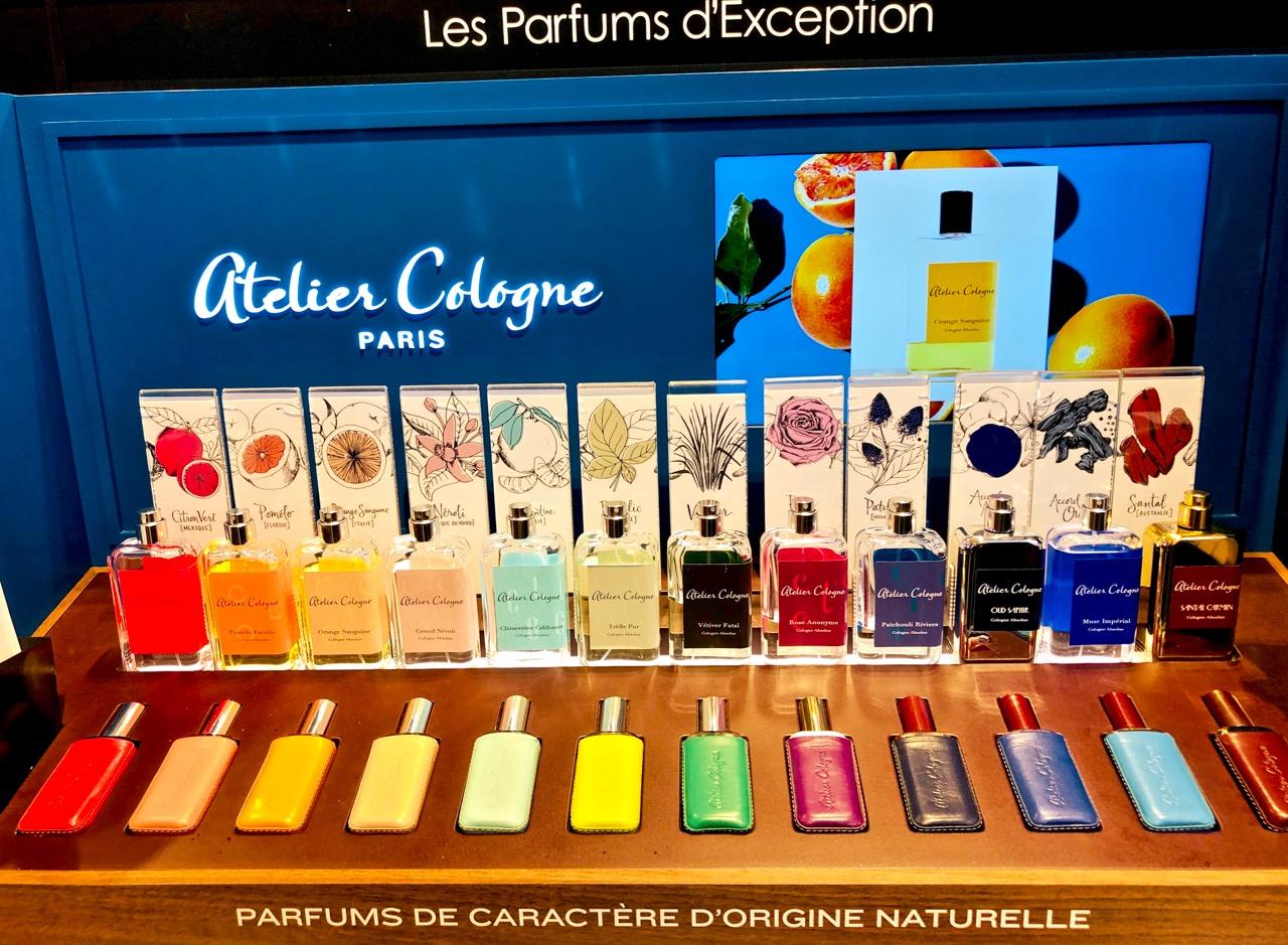 Ostolakossa Pariisi ranskalaiset hajuvedet