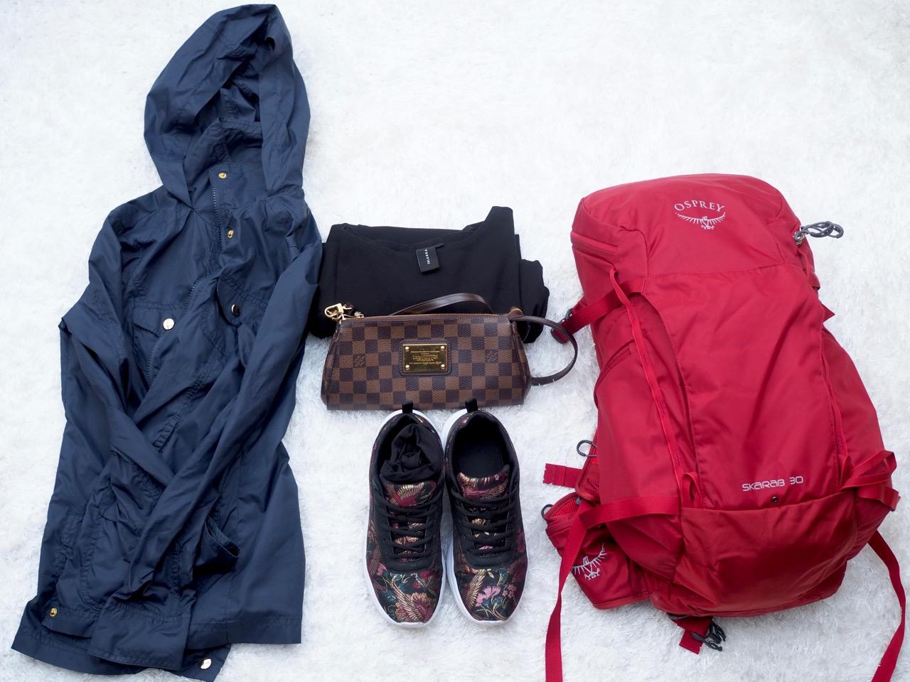 Virve Fredman minimalistinen pakkaaminen Ostolakossa blogii