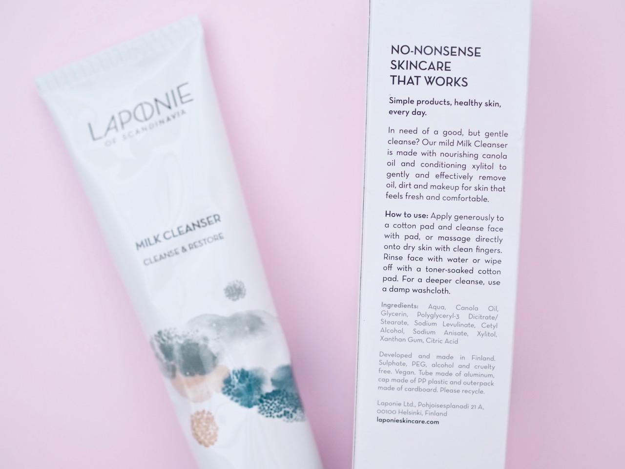 Laponie of Scandinavia ihonpuhdistus tuotteet kokemuksia Virve Fredman Ostolakossa