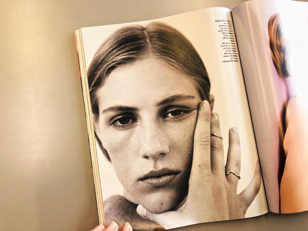 Ranskalaisten naisten meikki ei luomiväriä Ostolakossa Virve Fredman