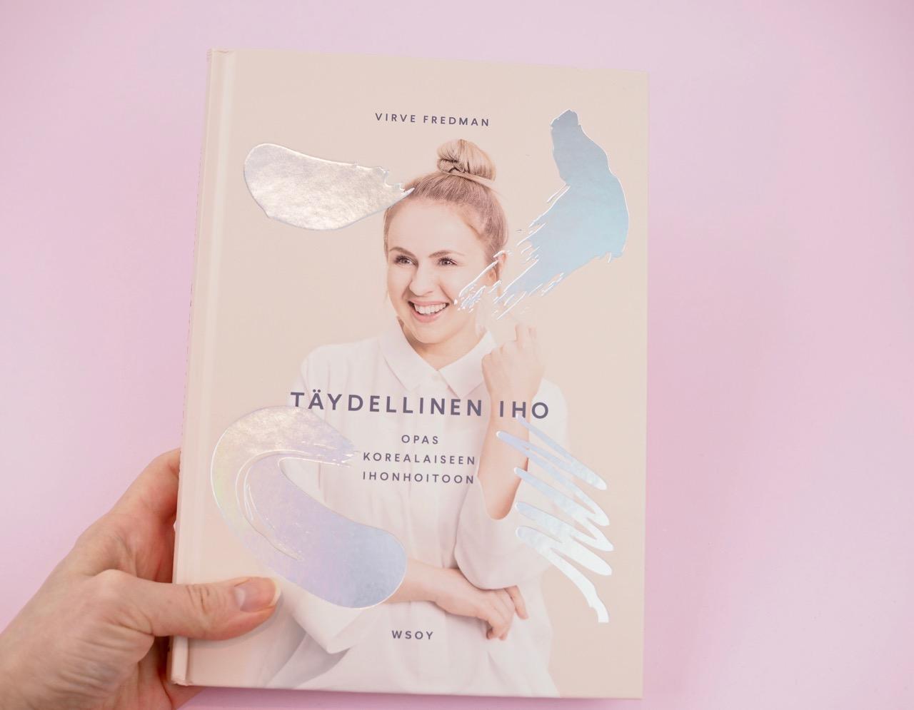 Virve Fredman Täydellinen iho korealainen ihonhoito kirja