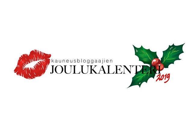 Kauneusbloggaajien joulukalenteri 2019