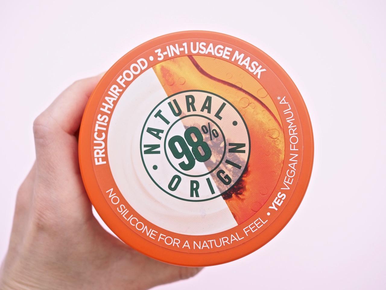 Garnier hiusnaamio Papaya Hairfood kokemuksia Ostolakossa Virve Fredman