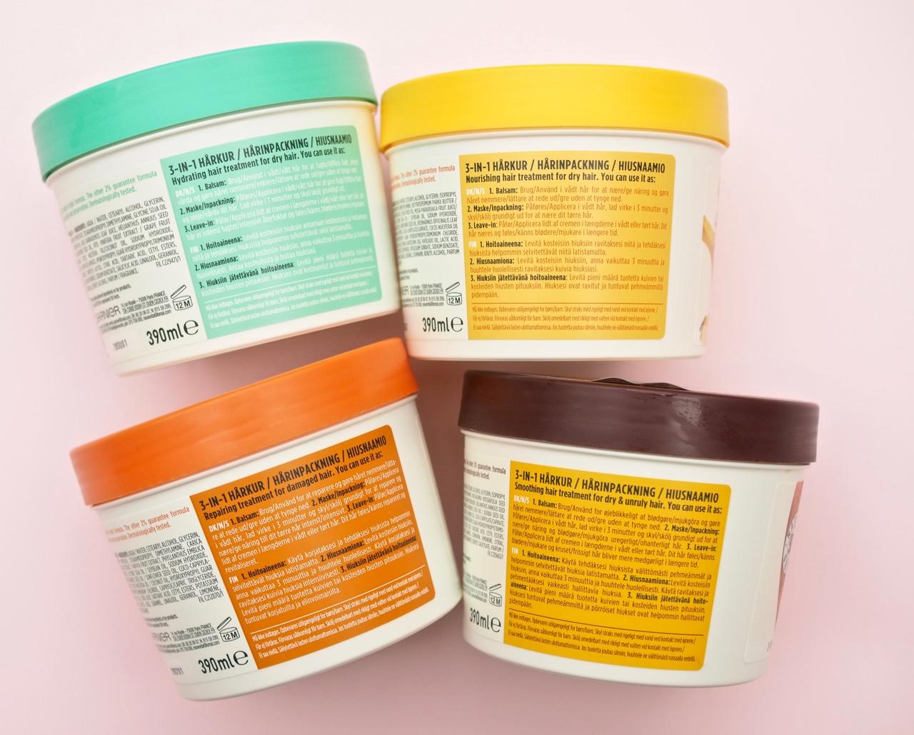 Garnier Fructis Hair Food Aloe Vera Naamio hiuksille