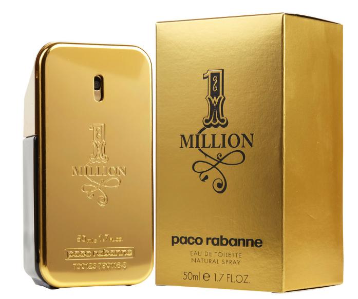 Parhaat tuoksut miehille Paco Rabanne 1 Million EdT