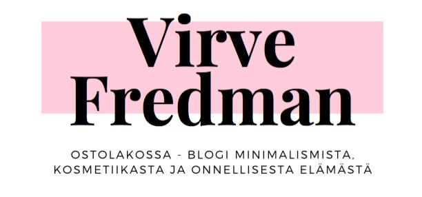 Virve Fredman | Ostolakossa-blogi