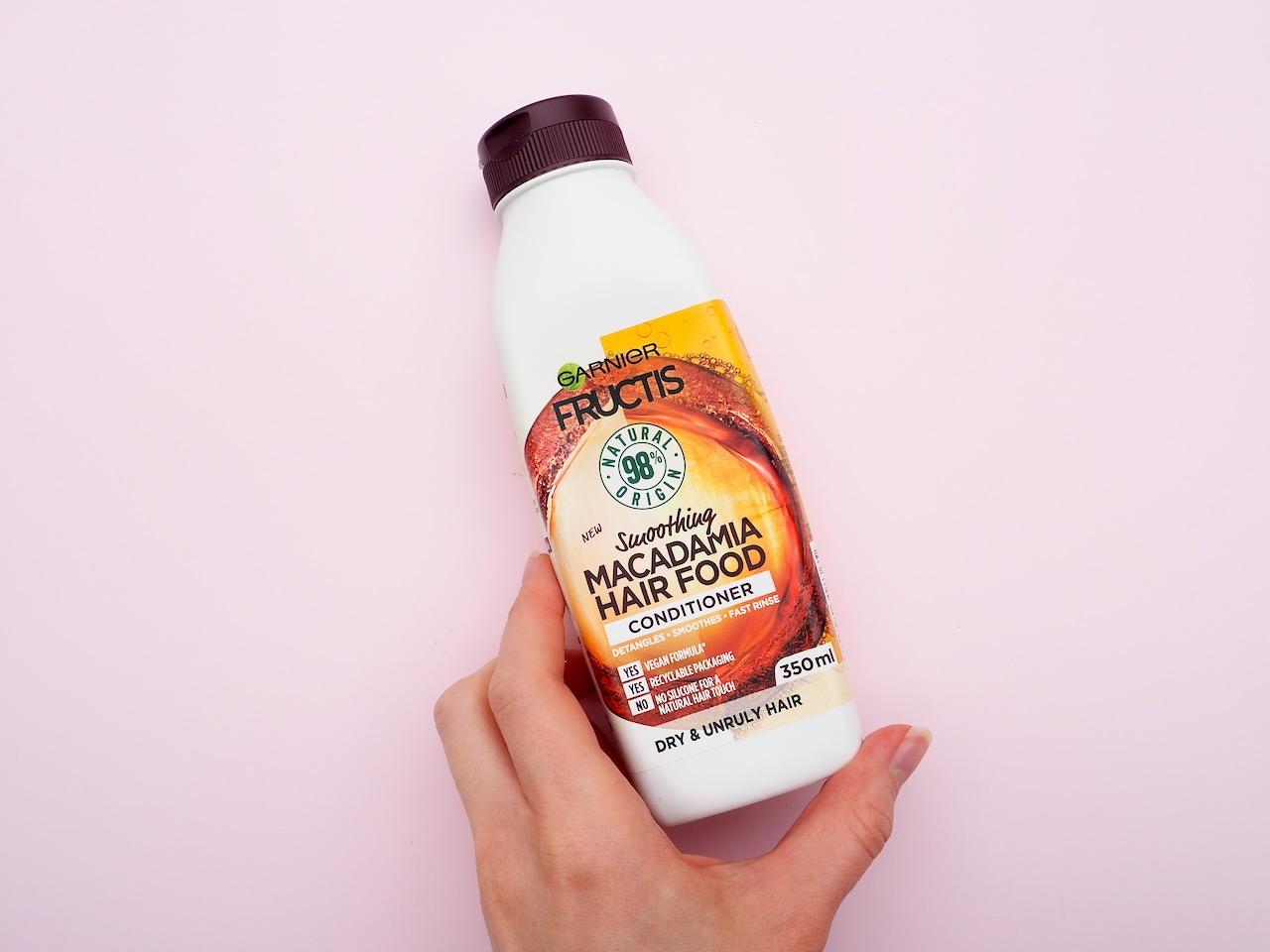 Garnier Macadamia Hair Food Conditioner hoitoaine kokemuksia