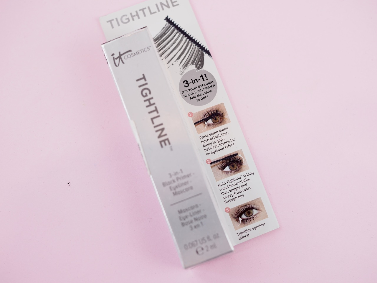 It cosmetics tightline mascara