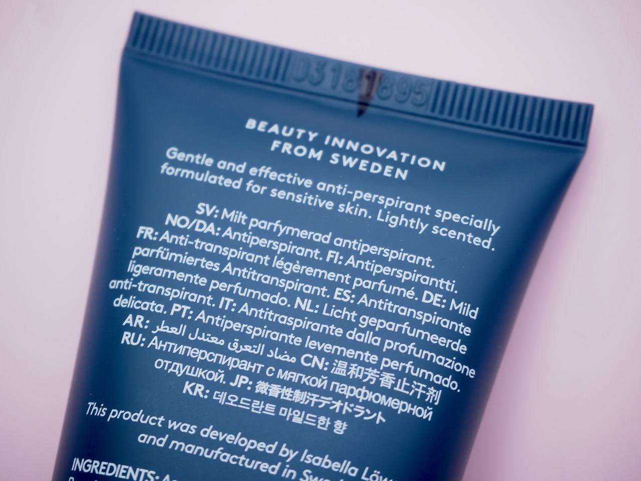 Löwengrip Sensitive Deodorant antiperspirantti kokemuksia Virve Fredman