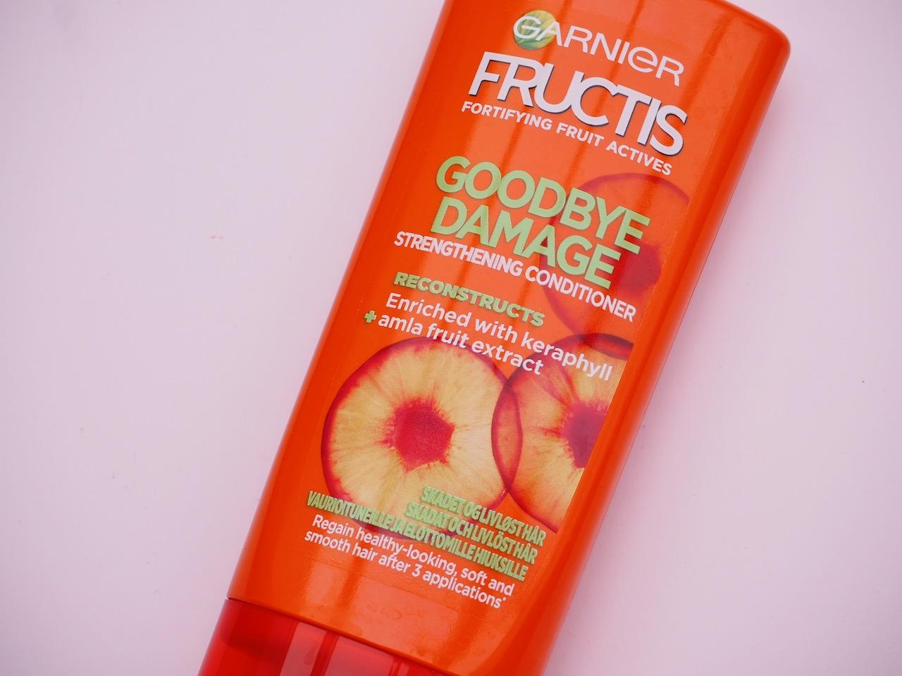 Garnier Goodbye Damage hoitoaine kokemuksia halpa hyvä hoitoaine hiuksille Virve Fredman
