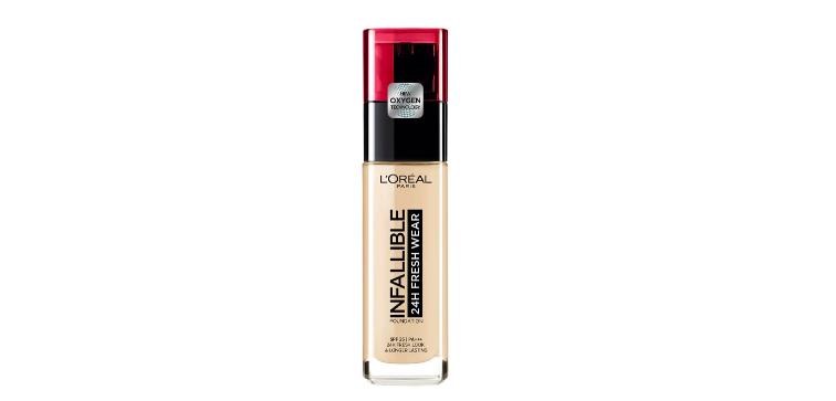 L'Oréal Paris Infallible Fresh Wear 24h -meikkivoide