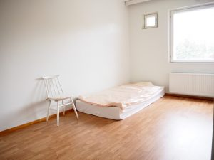 Virve Fredman minimalismi opiskelijasolu