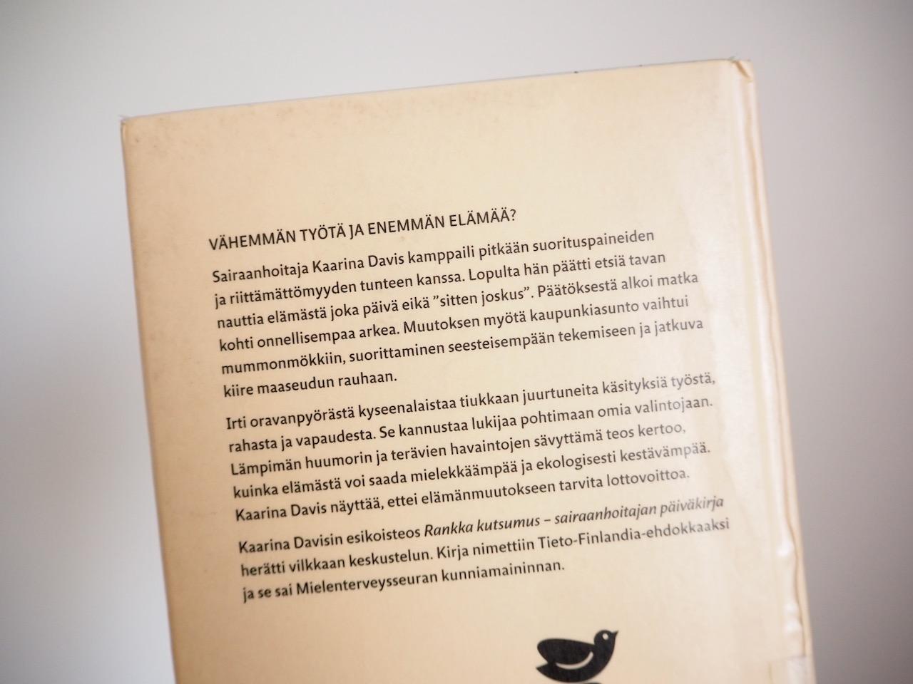 Kaarina Davis Irti oranvanpyörästä kirja