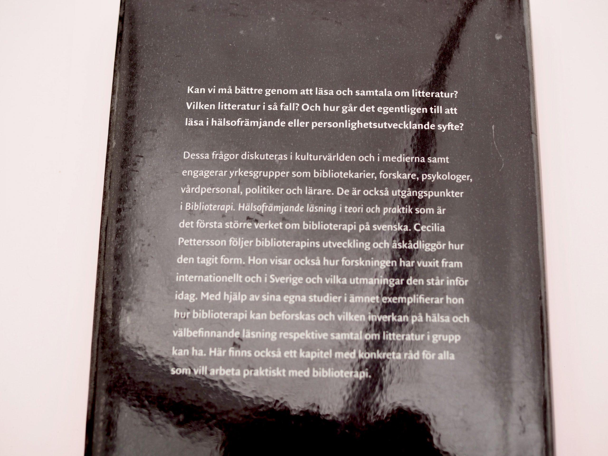 Kirjallisuusterapia Virve Fredman