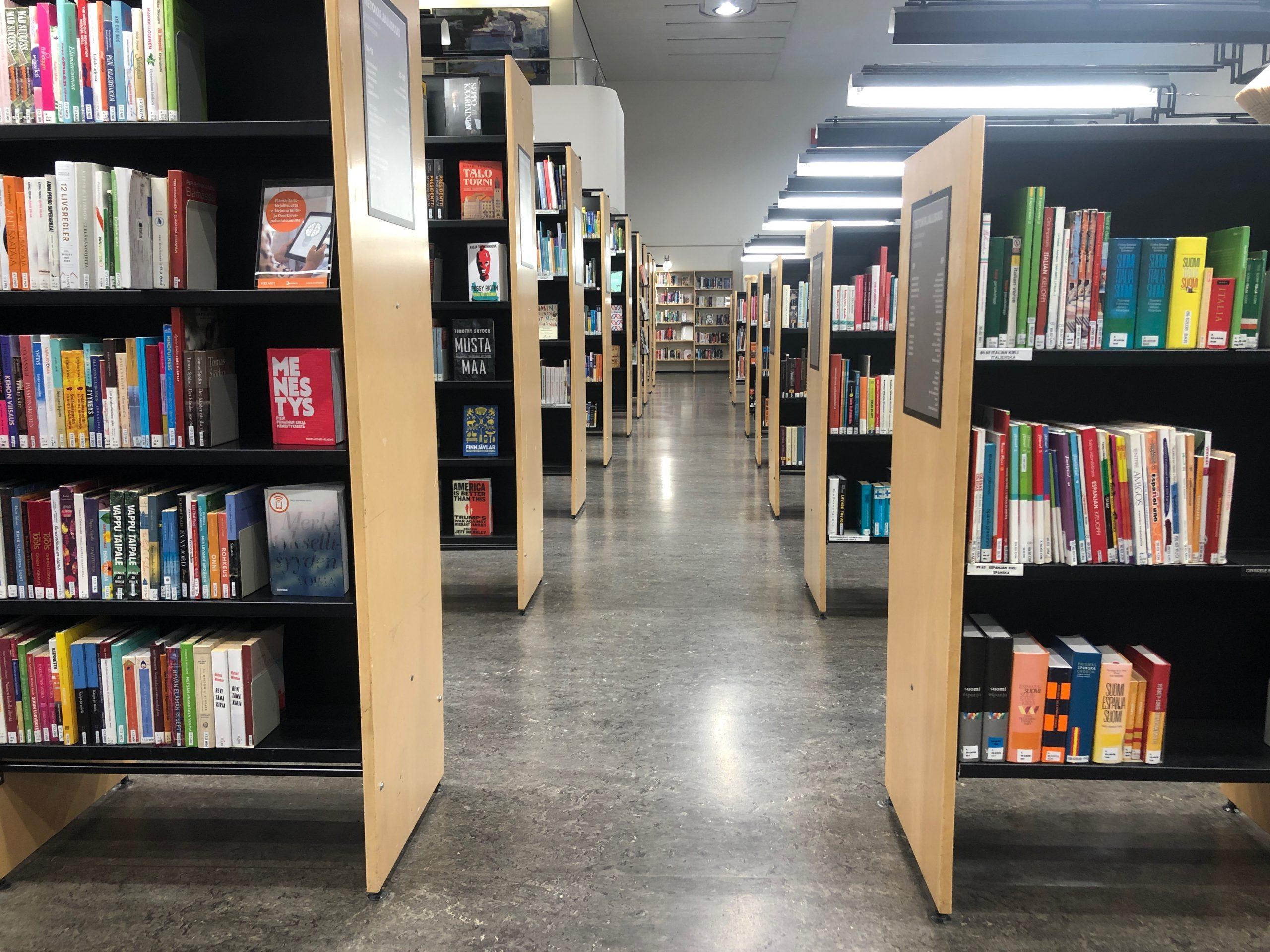 Kirjasto Virve Fredman